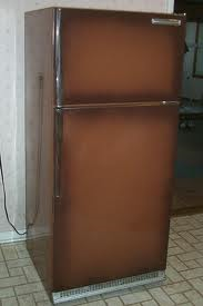 Brown Fridge